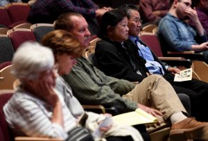 SoCal Policy Forum on the issues of housing affordability and homelessness at Westerbeck Hall on the campus of Pasadena City College on Thursday, October 17, 2019 in Pasadena, California. (Photo by Keith Birmingham, Pasadena Star-News/SCNG)